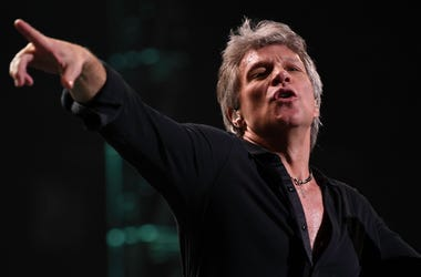 Feb 12, 2017; Sunrise, FL, USA; Jon Bon Jovi performs at the BB&T Center. Mandatory Credit: Ron Elkman/USA TODAY NETWORK