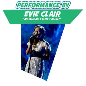 Performance by: Evie Clair