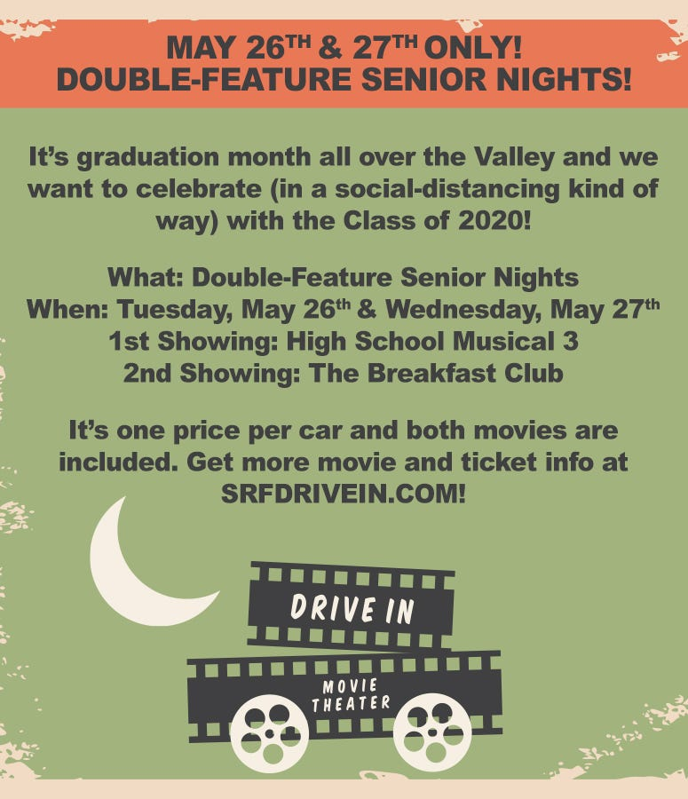Senior Nights at the Drive-In