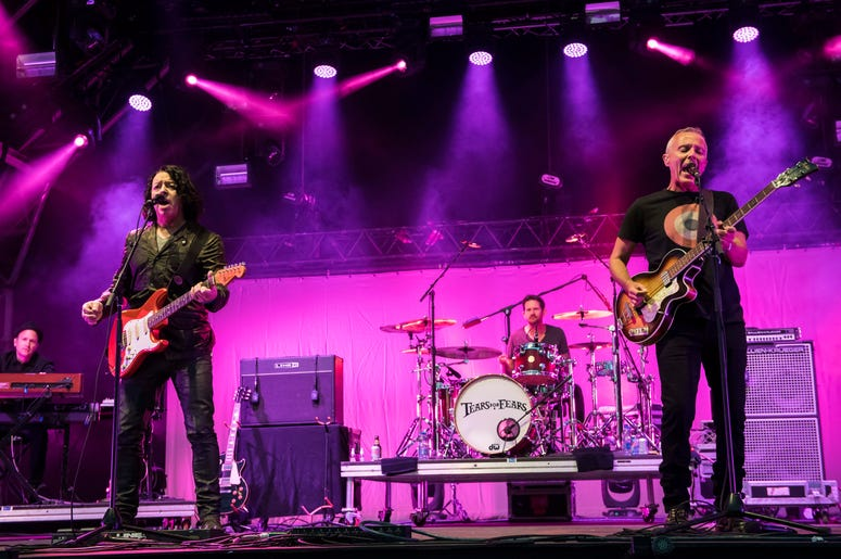 7/31/2016 - Tears for Fears perform live on stage at Camp Besitval 2016, Lulworth Castle - Wareham (Photo by PA Images/Sipa USA)