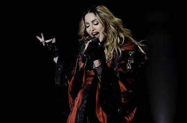 Jan 23, Miami, FL, USA; Recording artist Madonna performs during her Rebel Heart Tour stop at the American Airlines Center. Mandatory Credit: Ron Elkman-USA TODAY NETWORK