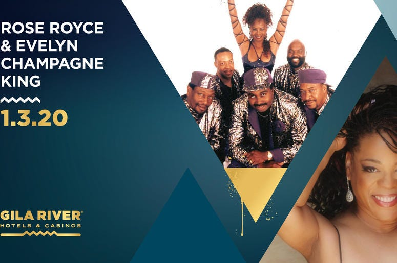 Rose Royce and Evelyn Champagne King