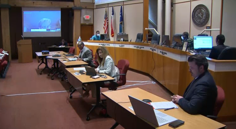 Dallas County Commissioners Meeting