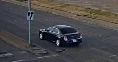 Mesquite Sex Assault Suspect Car