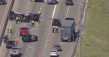 Fatal Crash I-35E in Denton