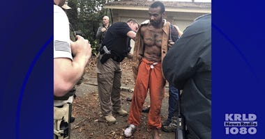 Conroe Police Department capture of Cedric Marks
