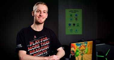 Michael Mairs, the student fundraising via video games to help fight childhood cancer.