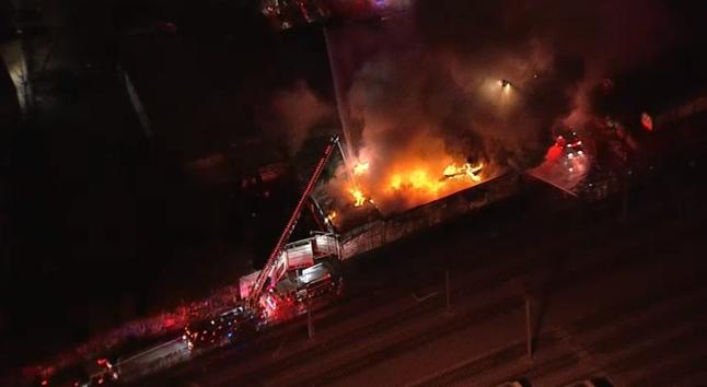 Dallas Food Warehouse Fire