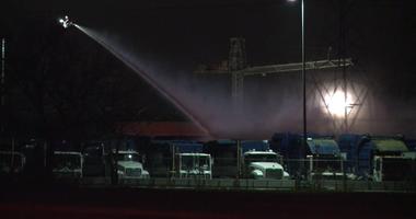 Haltom City Trash Truck Fire