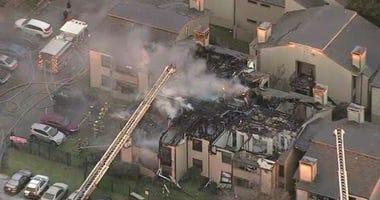 Dallas Apartment Complex Fire