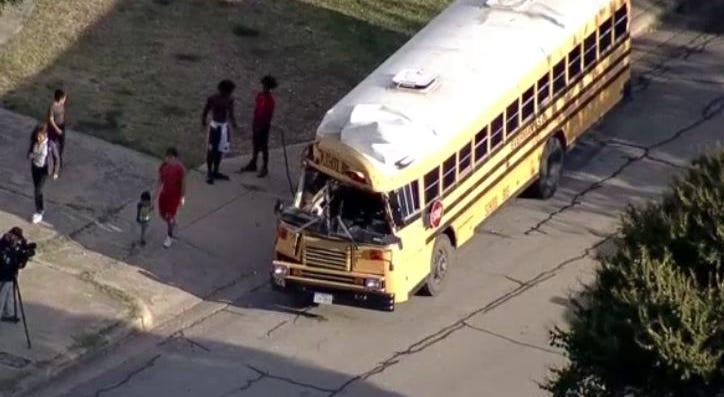 Fort Worth School Bus Crash