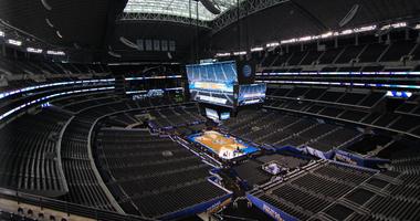 Empty AT&T Stadium