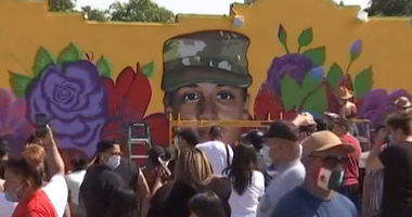 Fort Worth Mural Honors Fallen Soldier