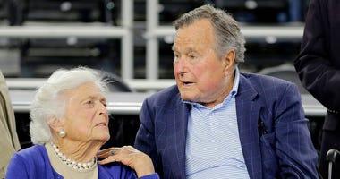 AP Photo: Barbara Bush
