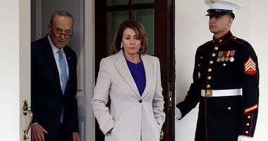 Senate Minority Leader Chuck Schumer, and Speaker of the House Nancy Pelosi