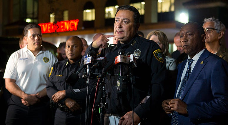 Houston Police Department Chief Art Acevedo