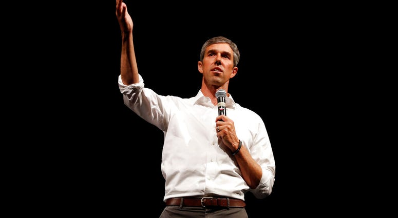 Democratic presidential candidate O'Rourke