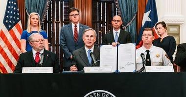 Texas Governor Greg Abbott Executive Order