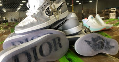 $4.3 Mil In Fake Designer Shoes Seized At DFW Airport