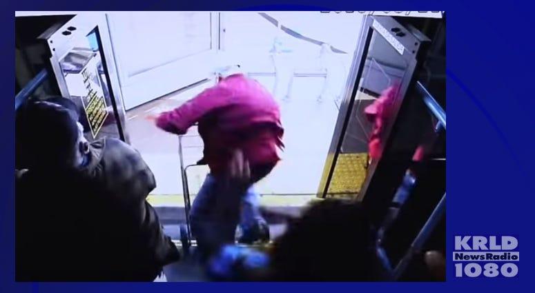 Man Dies From Injuries After Being Shoved Off Las Vegas Bus