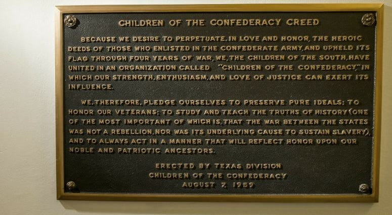 Children Of Confederacy Creed