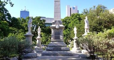 Pioneer Park Confederate Monument