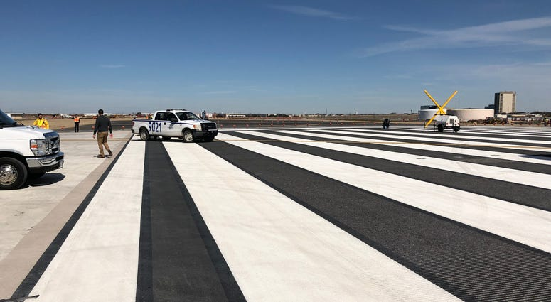 DFW Airport Runway Construction