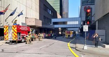 Downtown Dallas Fire