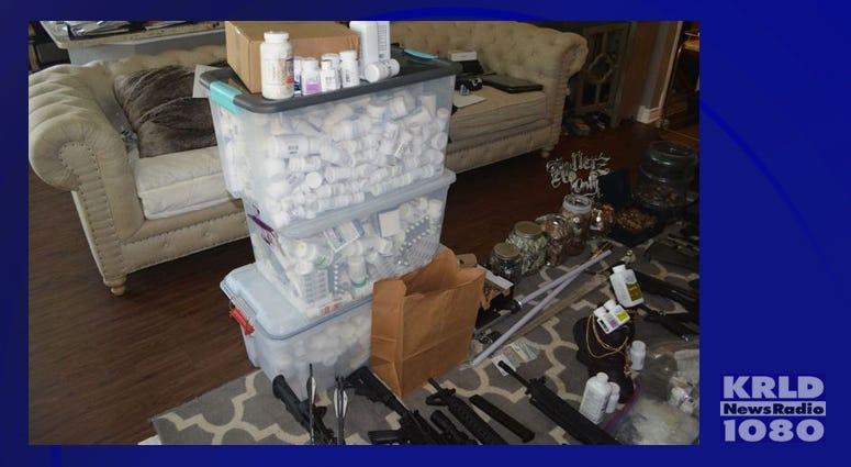 Denton Police Drug Bust