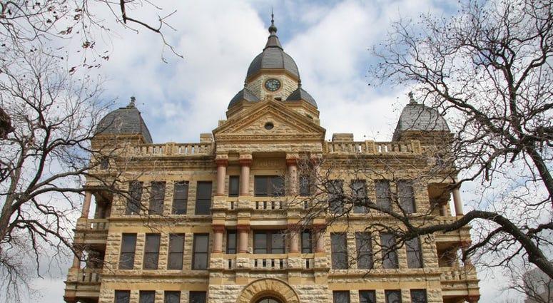 Denton courthouse