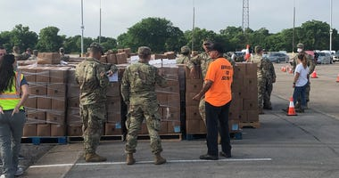 Fair Park May Food Pantry, North Te​xas Food Bank