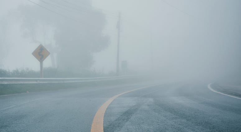 Patchy Fog, Drizzle
