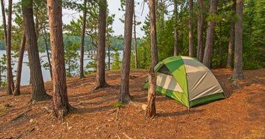 Camping, Lake Camp,