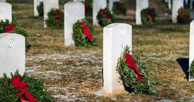 Cemetery Wreaths