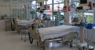 Coronavirus Patients In Hospital