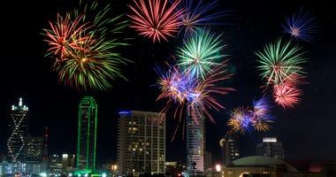 Dallas July 4th Fireworks