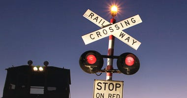 Rural Train Crosssing