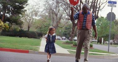 School Crossing, School,