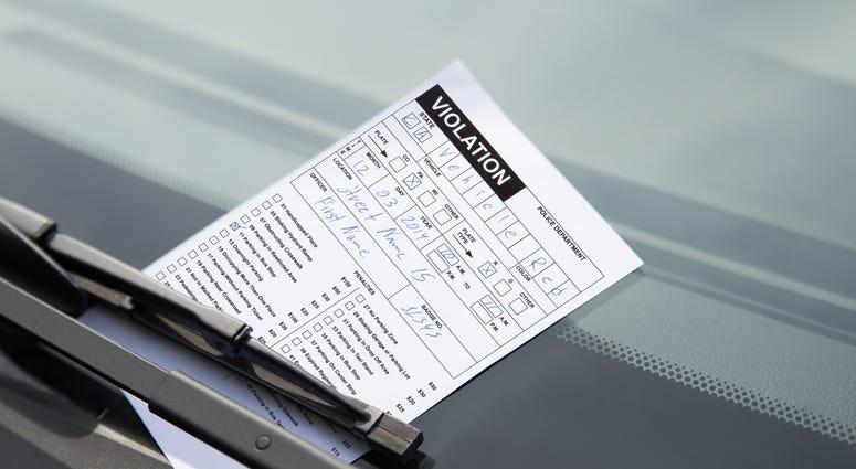 Parking Ticket, Parking Citation