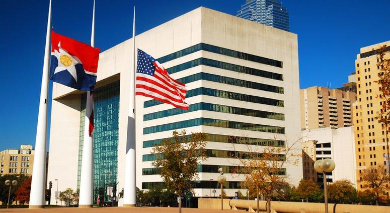 Dallas City Hall, Downtown Dallas