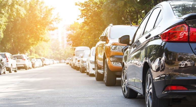 Cars Parking On Street
