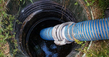 Sewer, septic tank