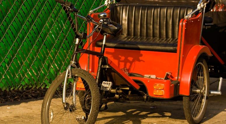 Pedicab, Bicycle Cab,