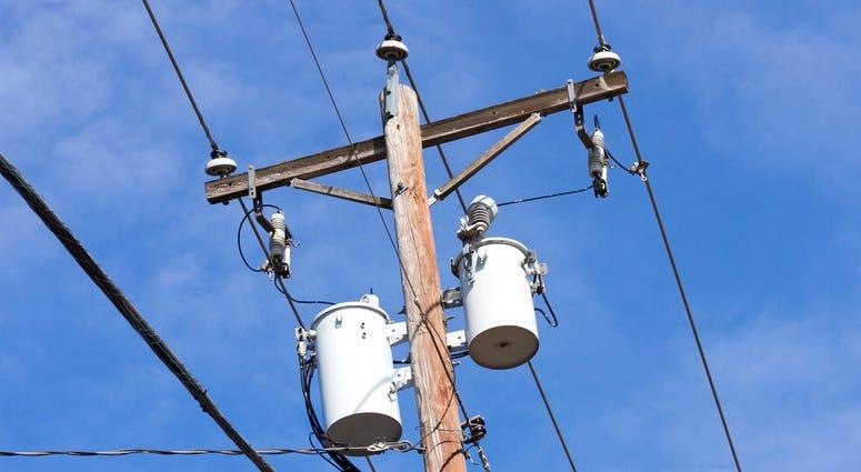 Power Lines, Power Pole, Utilities
