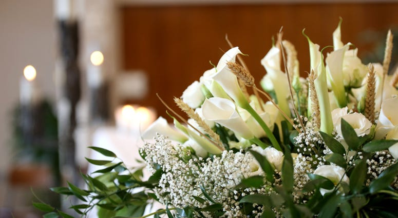 Flowers For Funeral Service