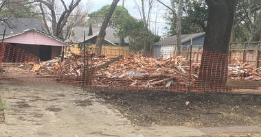 Dallas House Mistakenly Demolished