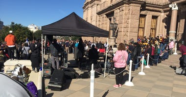 MLK Celebration At Texas State Capitol