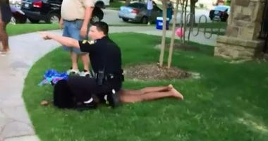 Girl Pushed by McKinney officer