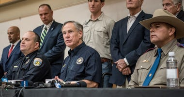 Odessa, Texas press conference about shooting