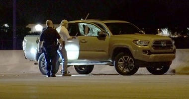 Fatally Shot In Pick up Truck